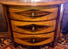 Quality inlaid demilune John Richard