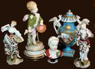 Figures from estate incl Meissen