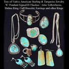 NA Sterling & Turquoise Jewelry