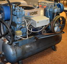 LARGE AIR COMPRESSOR. WANTS 1 CYL SERVIC