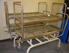there are 2 Auctoclave Cleaning Carts
