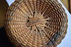 marking on Nantucket basket