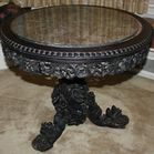 Carved Asian MT center table