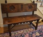 Cvd bench from Nantucket capt house