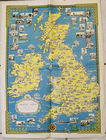 Ernest Dudley British Isles Map