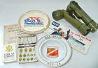 Military Flashlights, Booklets, Ashtrays