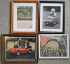 Framed Ads, Prints