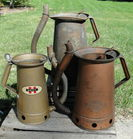 Huffman & Other Swing Spout Oil Cans