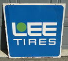 Double Sided Porcelain Lee Tires 36""