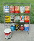 Variety of Quart Oil Cans