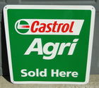 "24"" Castrol Agri Metal Sign"