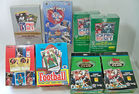 Sports Trading Cards In Boxes
