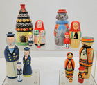 Sets of Nesting Dolls From Poland