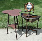 Smoking Stand, Cloverleaf Table