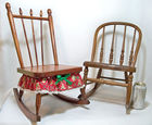 Doll Sized Rocking Chairs