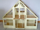 Large 3 Piece Dollhouse