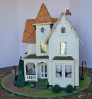 Victorian Dollhouse W/Furnishings