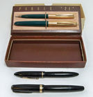 Parker & Sheaffer Fountain Pens