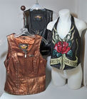 Harley Davidson Leather Vests