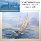 Nautical Oil Painting by Hardy