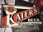 KAIER'S  BEER SIGN