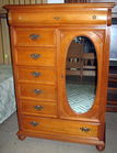 Lexington Oak dresser/armoire