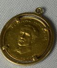 Lot 22: Mattahorn Gold medallion coin