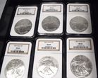 silver eagle bullion coins