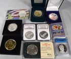 Lot 173A: Silver bullion coins