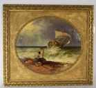 Lot 51: 19th century castaway painting