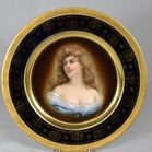 Lot 142: Royal Vienna Porcelain plate