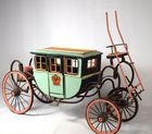 English toy or model coach: