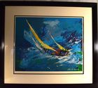 Lot 154: 1977 Leroy Neiman signed