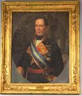 Lot 185: Large portrair of Ferdinand VII
