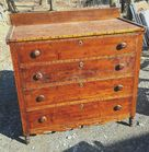 Early Curly Maple Dresser