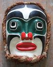 West Coast Haida Mask