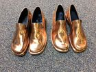 Bronzed Adult Dress Shoes