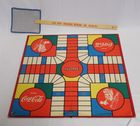 Lot# 13 - Coca-Cola Gameboard and Fly Sw