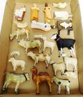 Lot# 175 - Lot of 14 Animals Made of Dif