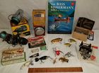 LOT OF VINTAGE FISHING ITEMS