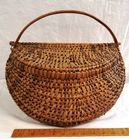 Unusual Lidded Basket