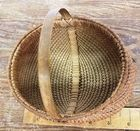 Small Antique Buttocks Basket