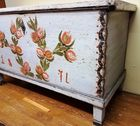 DOVETAILED BLANKET CHEST WITH TILL