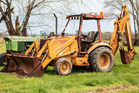 CASE 590 TURBO LOADER BACKHOE