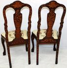 Inlaid Chairs back
