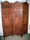 Teak divided screen