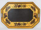 Lot 229: Tole 6 sided Decorative Tray