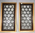 Lot 177A: Leaded Glass Windows