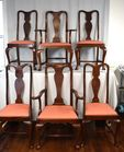 Lot 73B: Eldred Wheeler arm chairs