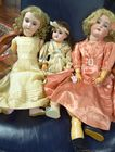 Lot 354: Three antique dolls